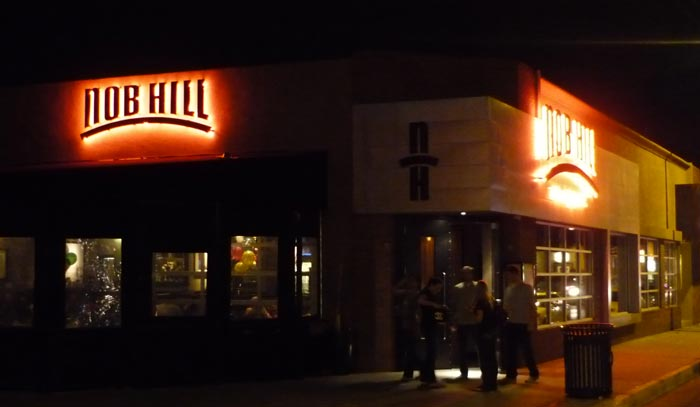 image of Nob Hill Bar & Grill (front, night)