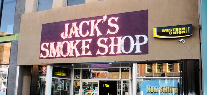 Image of Jack's Smoke Shop (front)