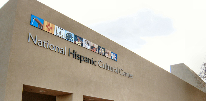 image of national hispanic cultural center (one building at front)